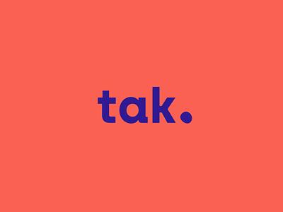 Tak Innovation - Logotype archia typography motion design animation illustration logotype design sprint service design brand identity blobs blob innovation design thinking branding logo design