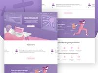 Ahoy App - Landing Page Design