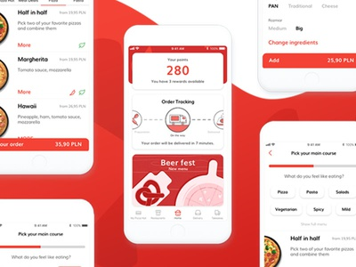 Pizza Hut App Redesign