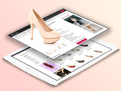 Shoe Shop - Listing & Detail  magento design e-commerce shoeshop shop shoe