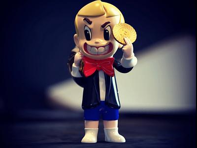 3D Design Design Collectable Toy render 3d 3d artist toy