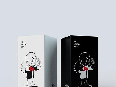 Package Design Concept render 3d package design package