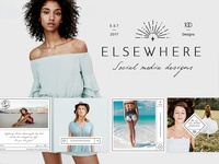 Elsewhere: Blog & Social Media Design Pack