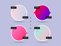 Gradient presets for our new WordPress theme SKIN