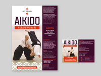 Aikido poster & flyer