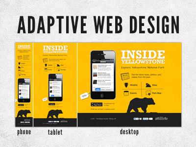 Adaptive Web Design adaptive website app iphone mobile