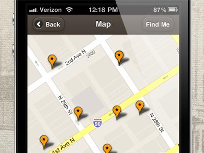 Historical Tour Map historical tour map mobile web app iphone jquery mobile google maps
