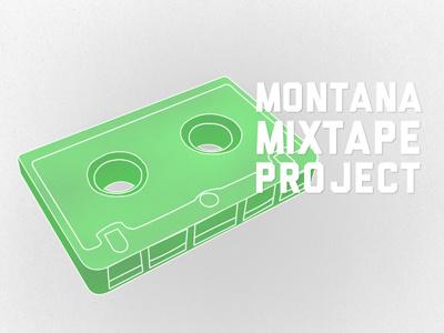 Montana Mixtape Project montana mixtape logo cassette