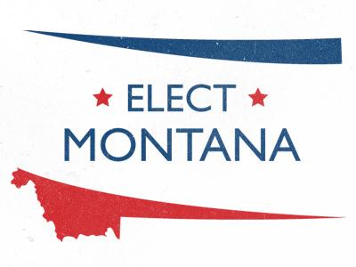 Elect Montana Logo montana elections news logo politics