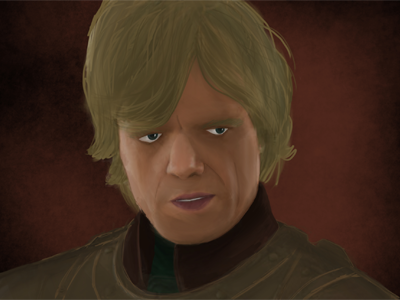 Tyrion Lannister game of thrones ipad jot pro procreate
