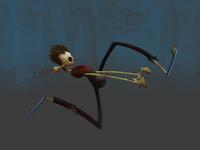 run - zombie