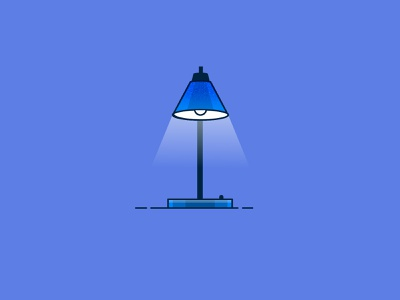 WFH Essential Tech: Lights work from home coronavirus covid-19 technology concept spot illustration icon illustration vector