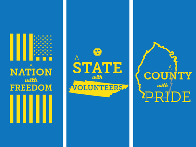 Greenway banners banner city state county nation greenway minimal icon tennessee cleveland