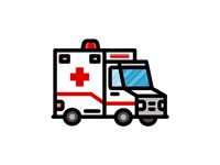 Medical Icons - Ambulance