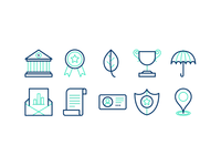 More icons