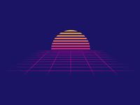 80s Sunset