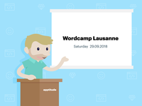 Apptitude will be at WordCamp Lausanne 2018!