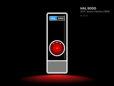 Hal 9000 - 2001 : A Space Odyssey