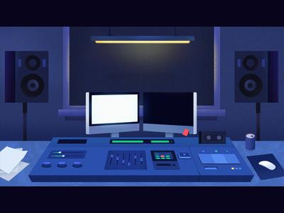 The Sound Studio | Illustration