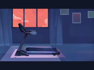 Treadmill | Illustration