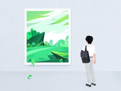 The Exhibition | Illustration