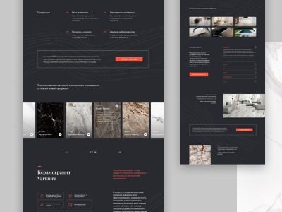 Varmora minimal landing catalog ui ux web design clean website fullscreen web