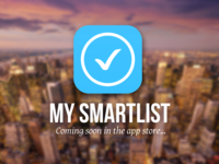 My Smartlist App for iPhone