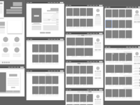 React wireframe