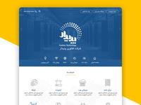 Bootstrap Website Interface Design