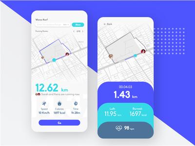 Running App Concept