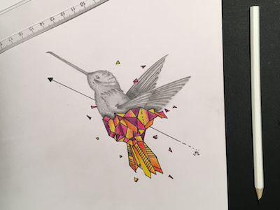 Geometrics and Pencil Art