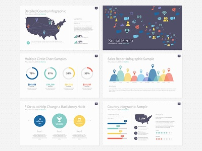 Omoa Powerpoint Theme omoa powerpoint template microsoft office ppt infographic