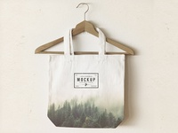 Tote Bag Mock Up 2 - PSD Freebie