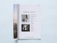 Magazine Mockup  FV