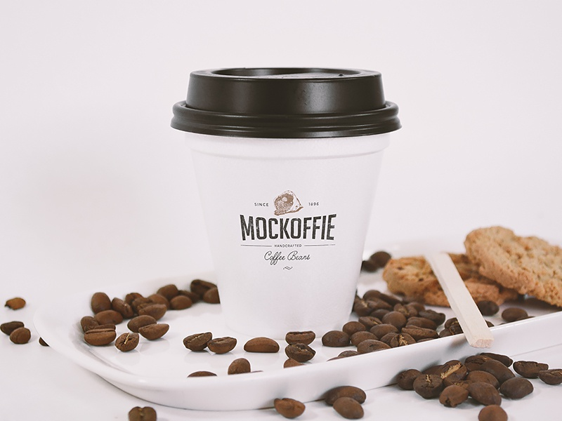 Coffee Cup Mockup cup package template mockup coffee