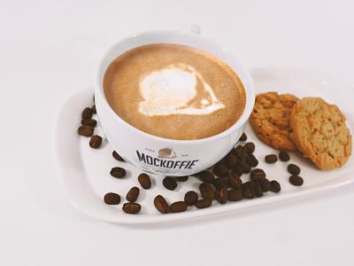 Latte Coffe Cup Mockup cup package template mockup art coffee latte