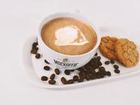 Latte Coffe Cup Mockup