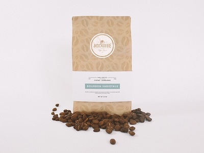 Coffee Bag Mockup package template mockup bag coffee