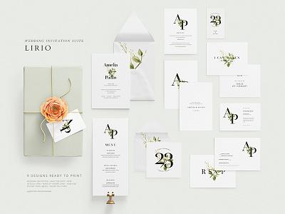 Wedding Invite Suite card suite invite wedding
