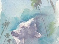 Watercolors, Andice & Clovis