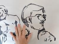 Jacob & Elisabet Sketch