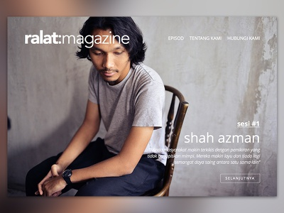 ralat:magazine malaysia minimal white shah azman interview website magazine
