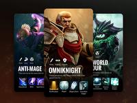 Dota Heroes Card