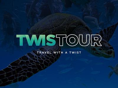 Twistour logo design branding corporate identity