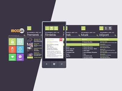 Mozi 24 app digital design app design ui ux