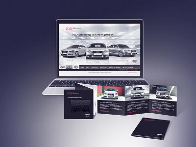 Audi digital campaign digital design web ux ui