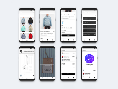 Smart Fashion Platform smart fasion platform thano app design clothing app clothing store clothing product ysdn interaction design mobile app design mobile fashion app fashion product design ux ui