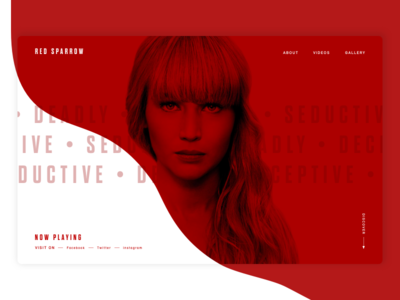 Red Sparrow - Home page