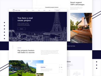 Wise Stone - Website