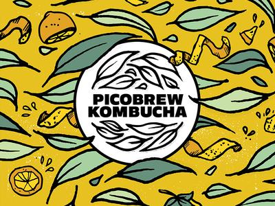 PicoBrew Kombucha - Lemon Flavor